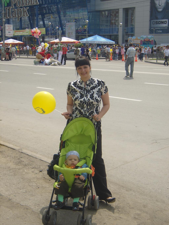День Города!. Закрытое голосование фотоконкурса 'С мамой на прогулке'