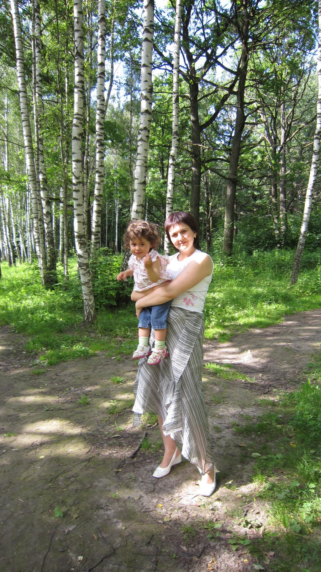Лето,ах лето!. С мамой на прогулке
