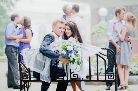 А мы первые!. Закрытое голосование 'Лучшее свадебное фото'