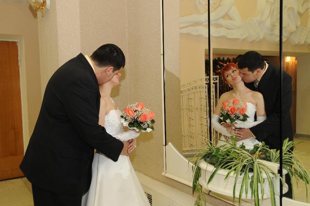 'Мы вместе!'. Лучшее свадебное фото