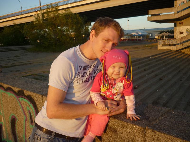 Папа с любимой дочкой!. Папины дочки