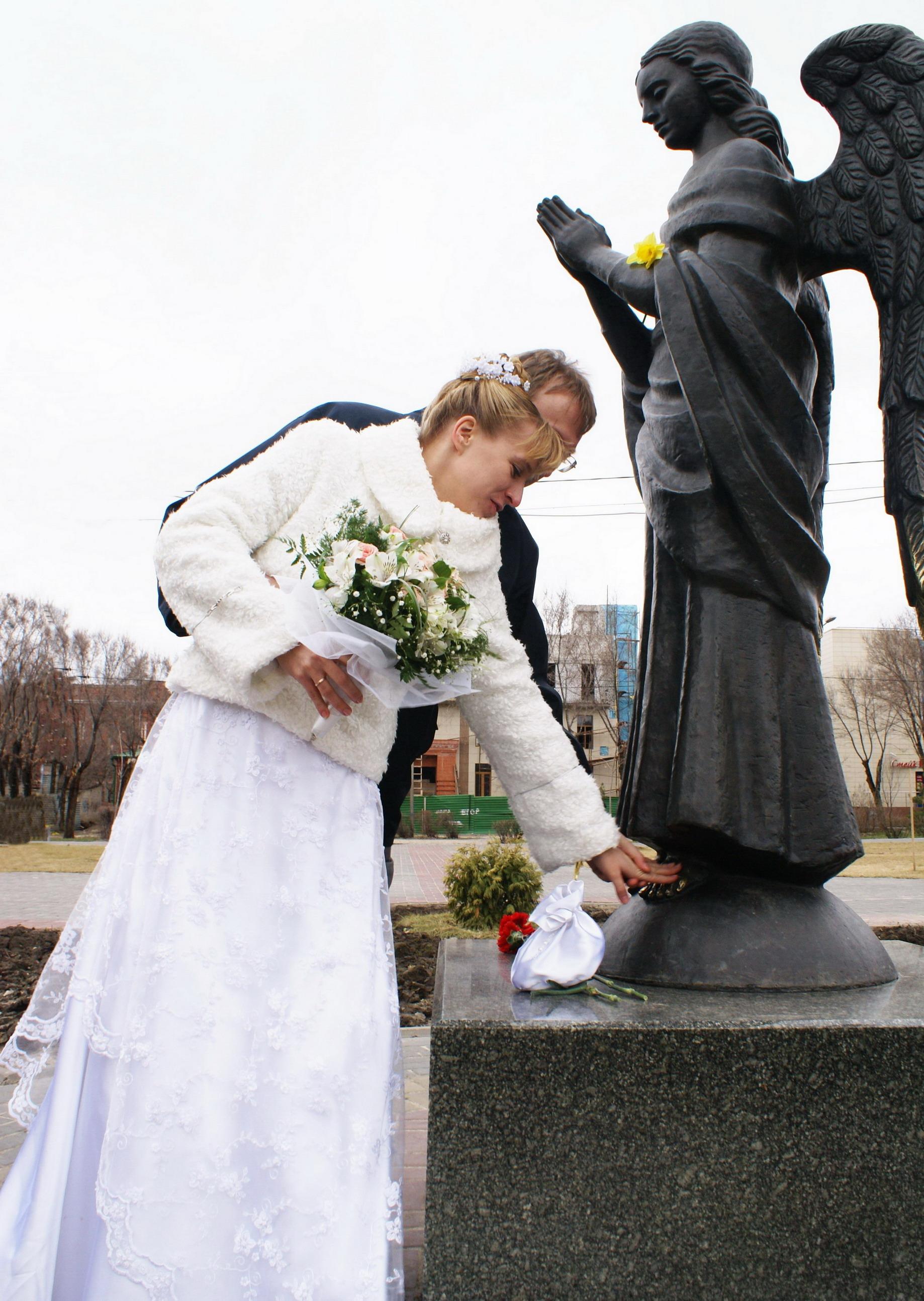 Благославляют небеса..... Лучшее свадебное фото