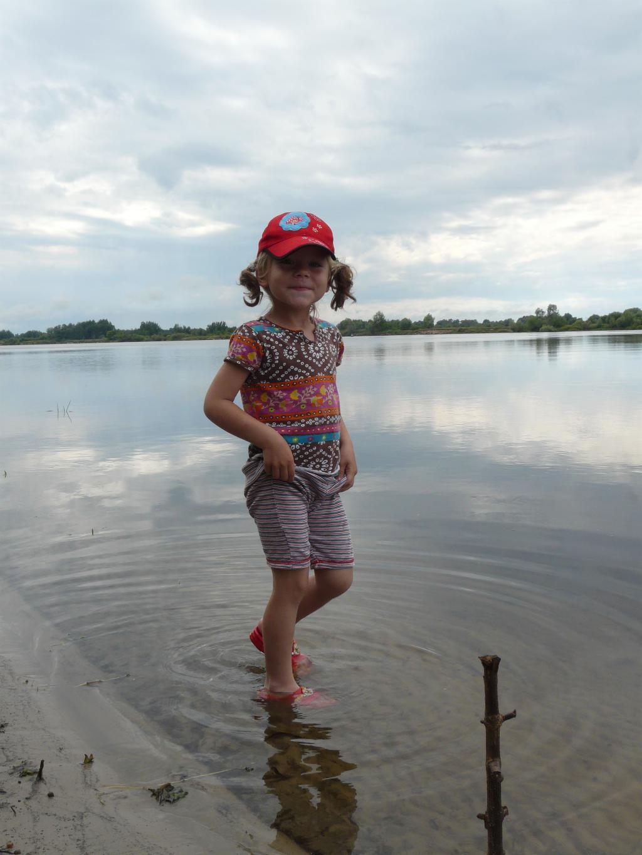 На берегу реки. Лето в стиле БИО