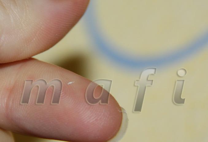 Растирается между пальцами в ничто :).