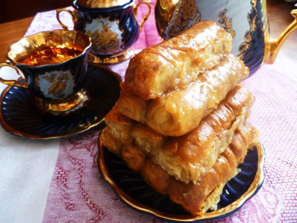 Восточная сладость 'Пальчики оближешь'. Кулинарные шедевры готовим по-новому с SAGA