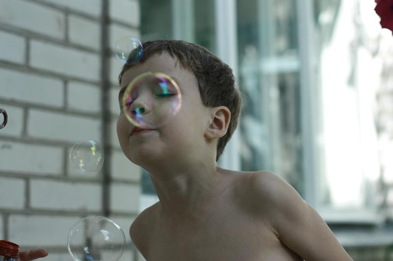 Пузырики. Детские портреты
