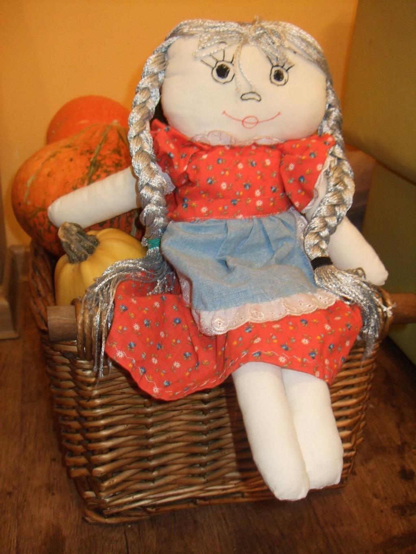 кукла ручной работы для дочки Даши.