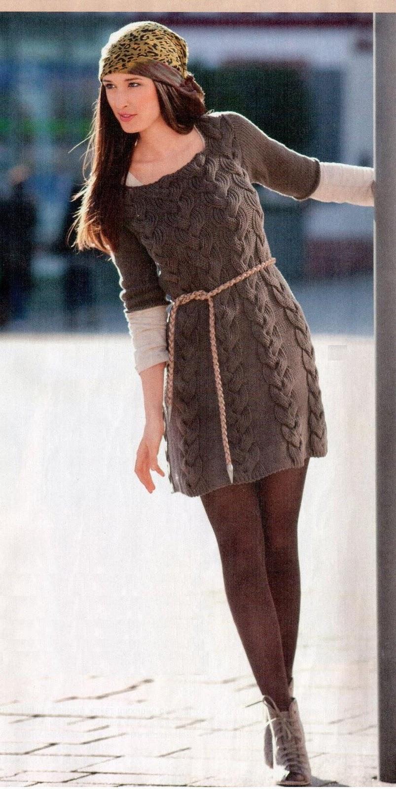 вязаные платья спицами с описаниями фотоальбом участника Vorsa