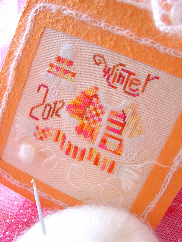 2 - ТюхE и Сергуша. 2011 Проект Зимняя открытка