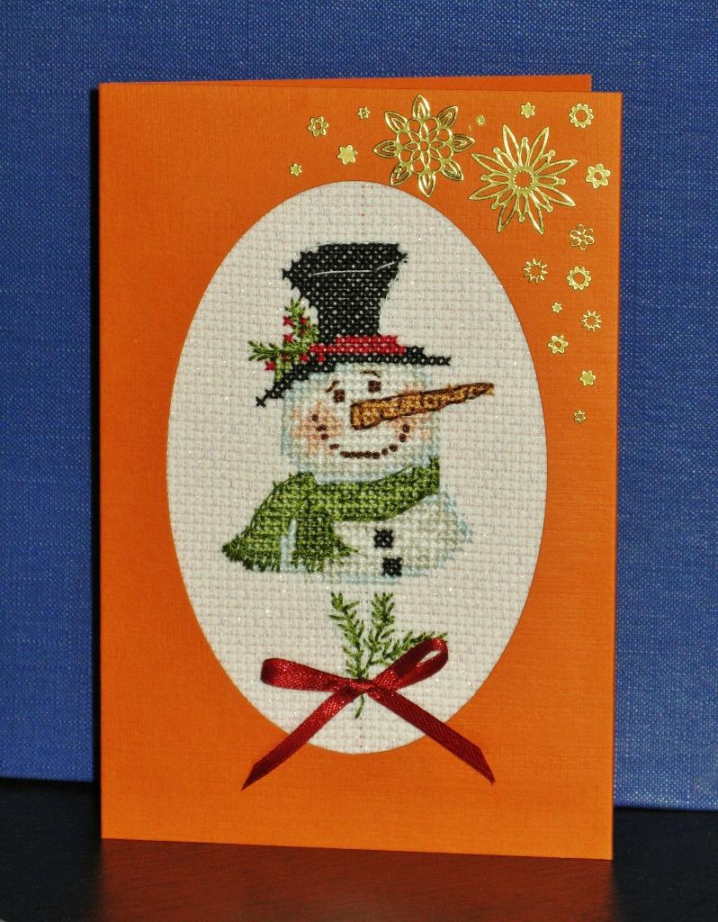5 - Даритта. 2011 Проект Зимняя открытка