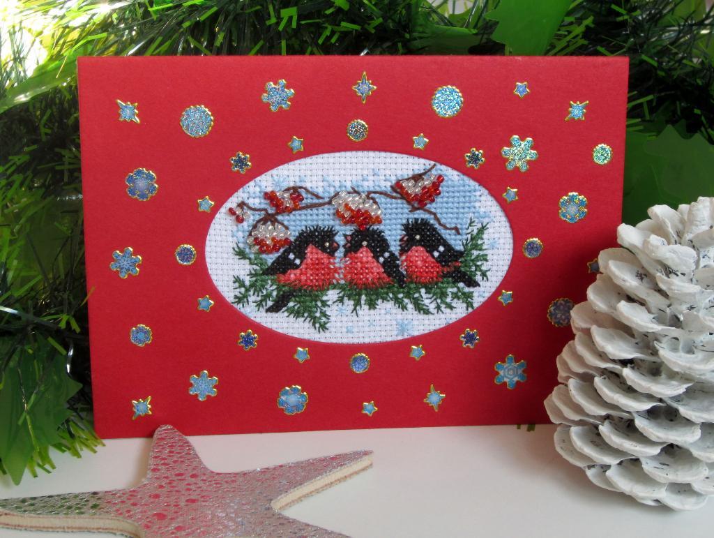 8 - Lyasia. 2011 Проект Зимняя открытка