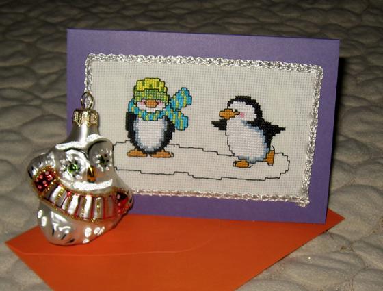 22 - Lapka8. 2011 Проект Зимняя открытка