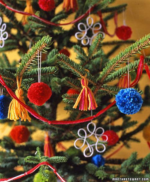 Новогодние поделки для украшения дома из клубков. Идеи поделок своими руками