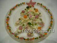 Салат 'Оливье'. Кулинарные шедевры