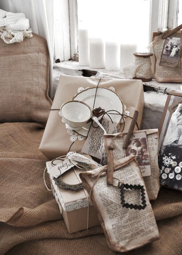Интересные идеи упаковки подарков к Новому Году . Идеи поделок своими руками