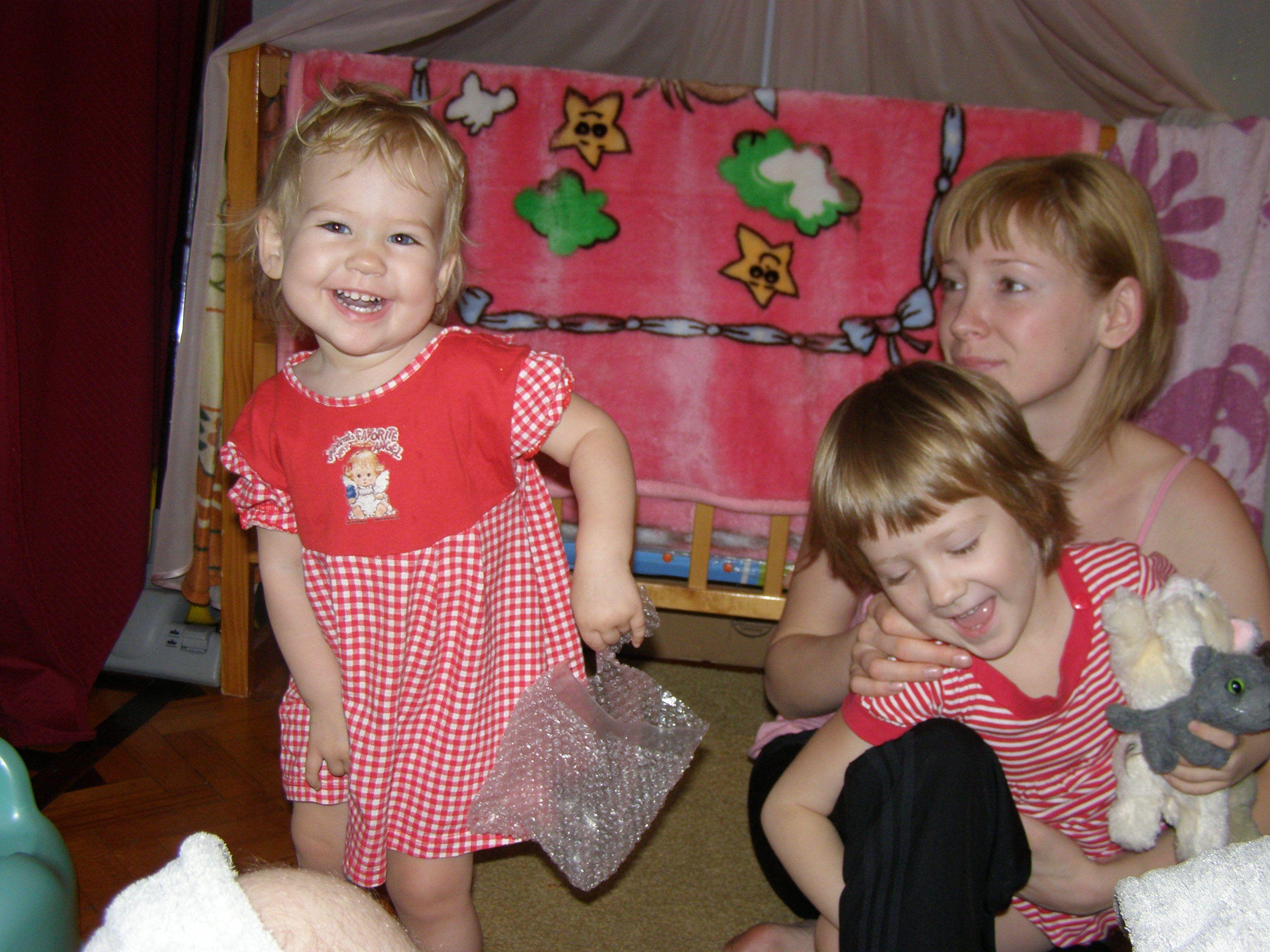 Александра и Полина. Детские портреты