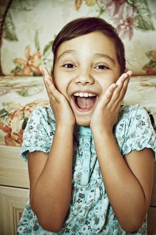 Улыбка ребёнка - родительское счастье!. Правда, мы милые?