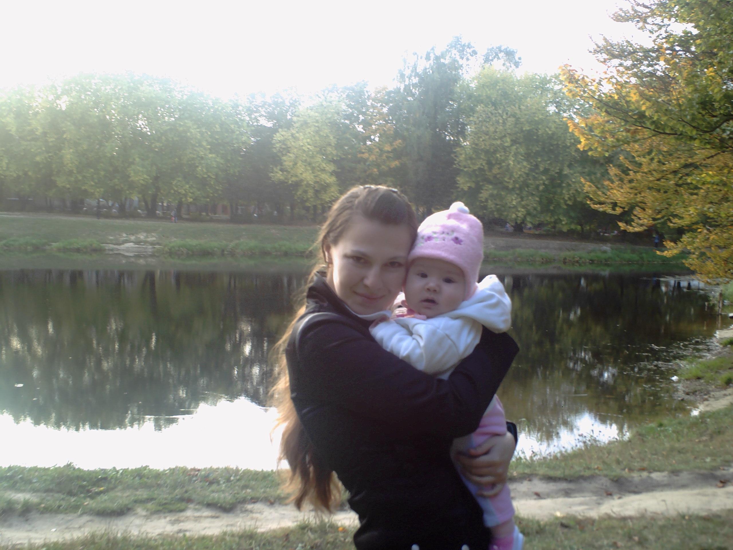 Я і моя доця Віка!. Вместе с мамой