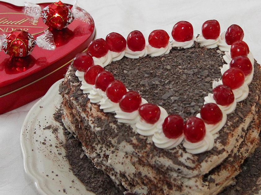 Моя валентинка.. Кулинария: торты и пирожные
