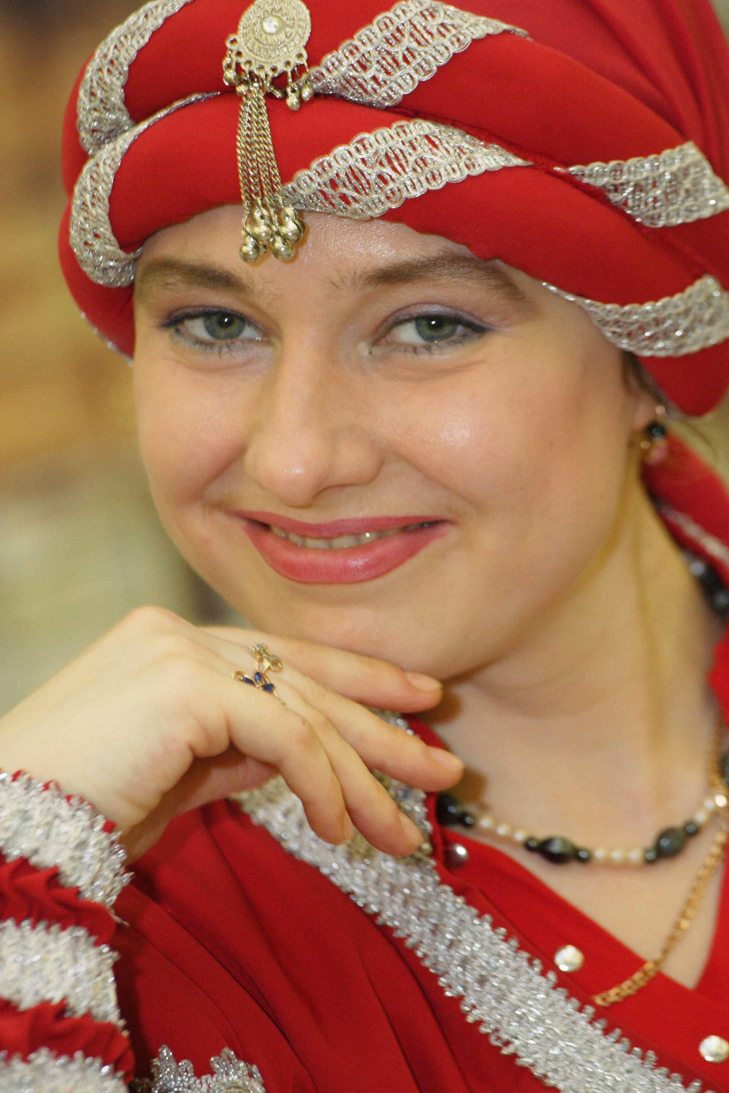 я в костюме персидского принца Амана. Ах, какая женщина!