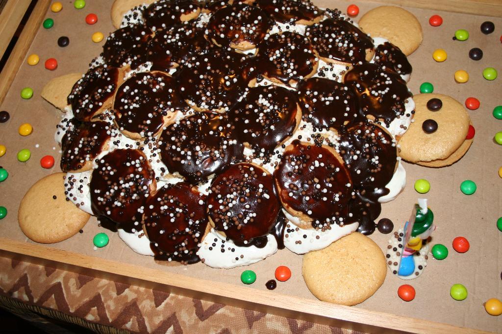 'Черепаха'.. Кулинария: торты и пирожные