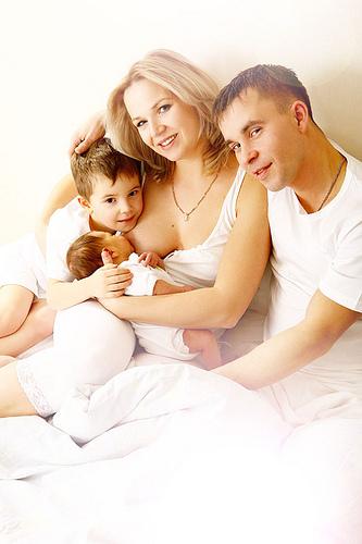 Какое счастье - быть мамой!. Молочные реки