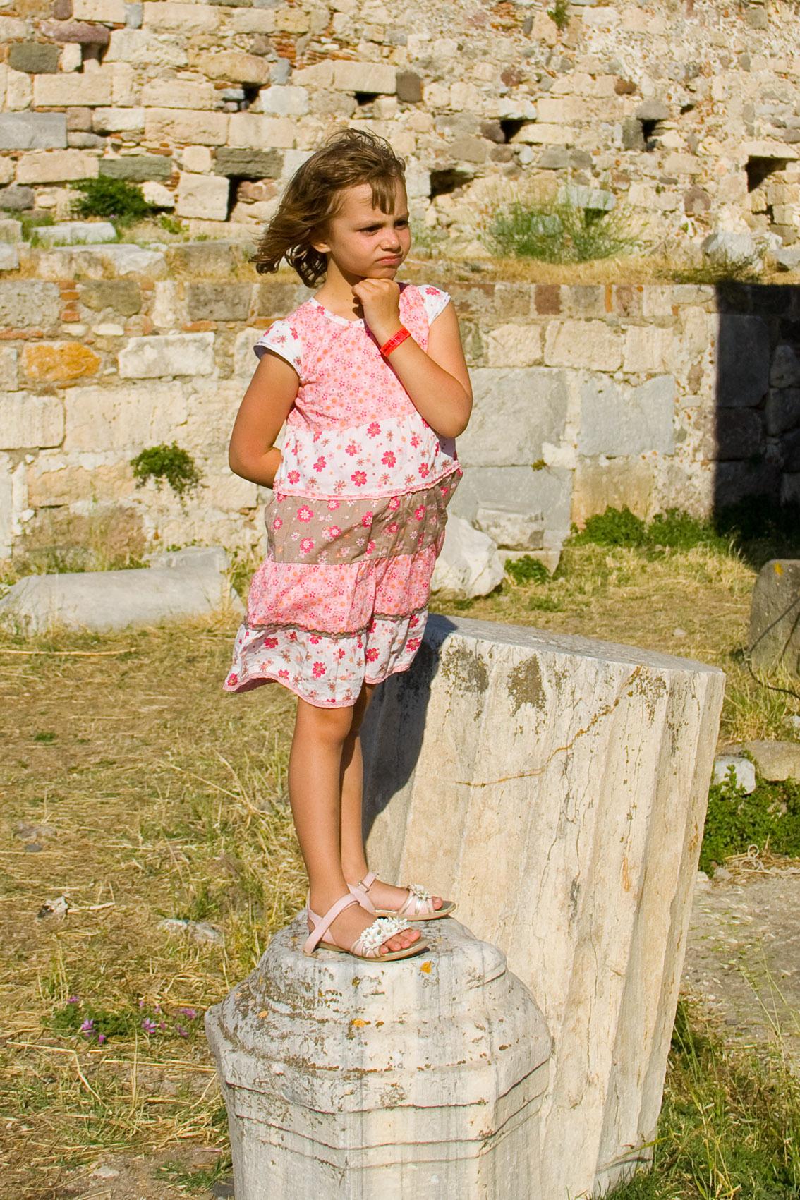 Греция. о.Кос. Руины замка. Вокруг света