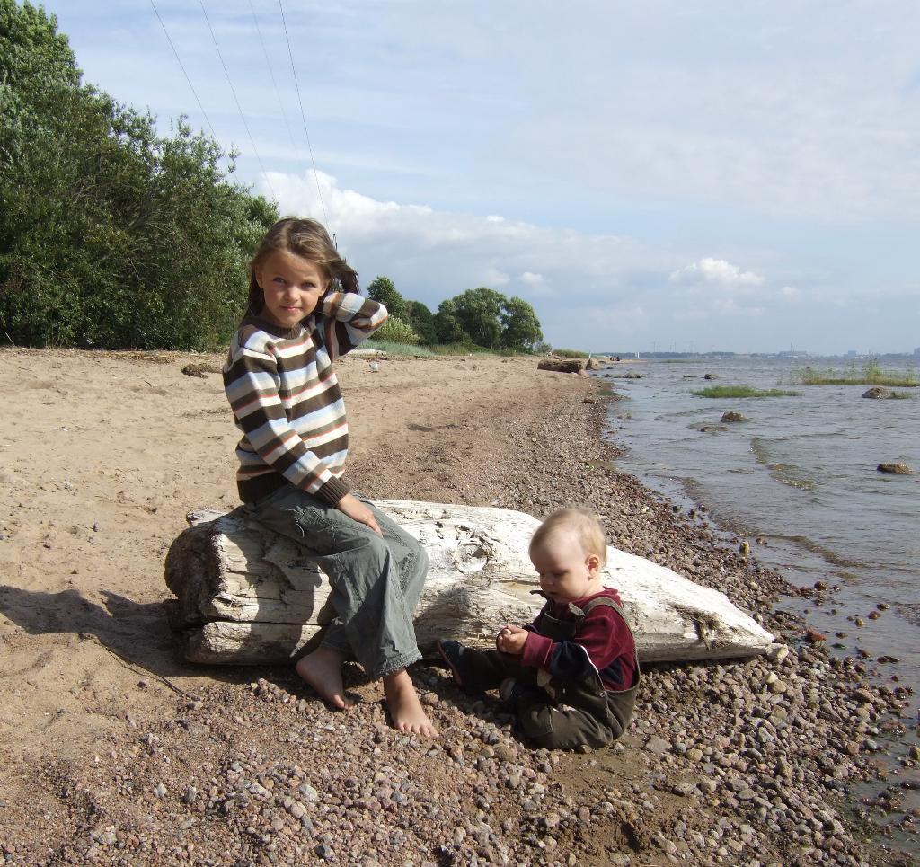 Балтийский берег.... Вокруг света