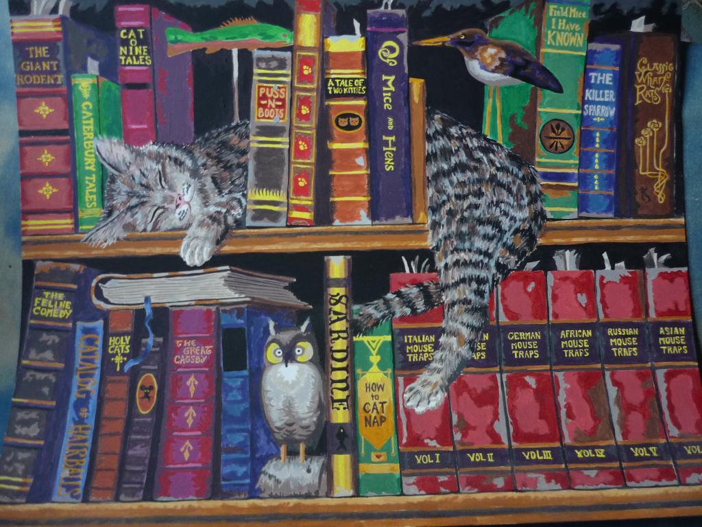 кот-книголюб. творю чего хочу