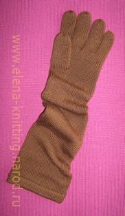 Перчатки удлиненные (45см). Перчатки, варежки, носки, пинетки, обувь