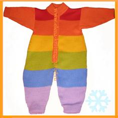 Комбинезон 'Радуга'. Одежда для детей