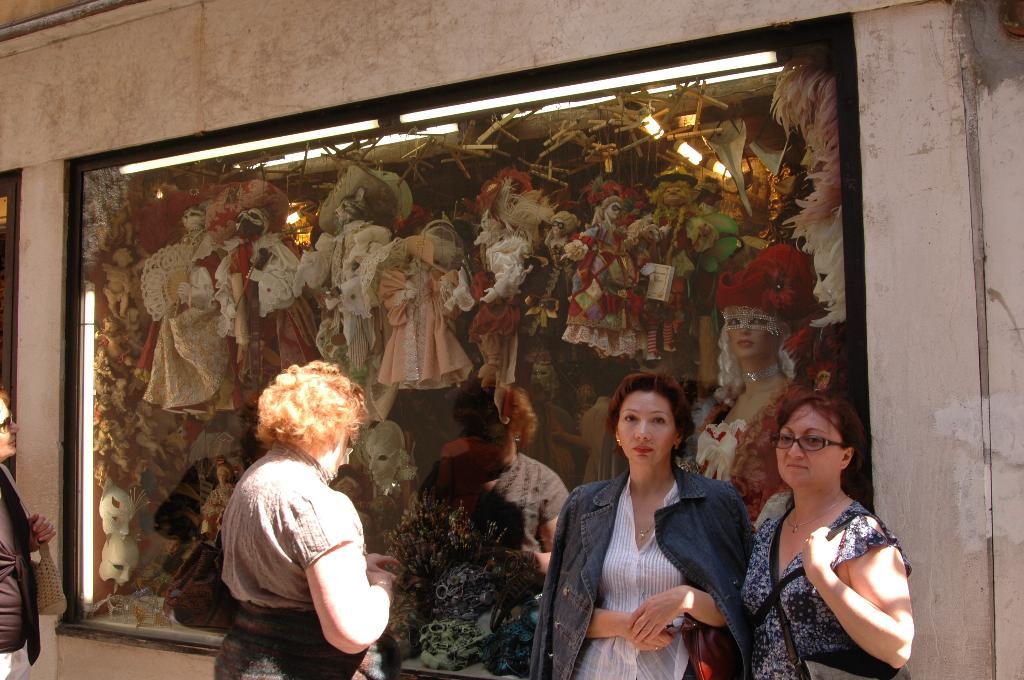 Венеция. Магазин кукол и масок. Вокруг света