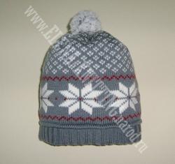 Шапка 'Норвежские звезды'.. Шапки, шляпки, панамки и др.  вязаные головные уборы