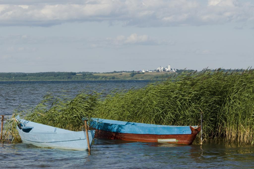 Плещеево озеро, г Переславль-Залесский. Блиц: водоемы