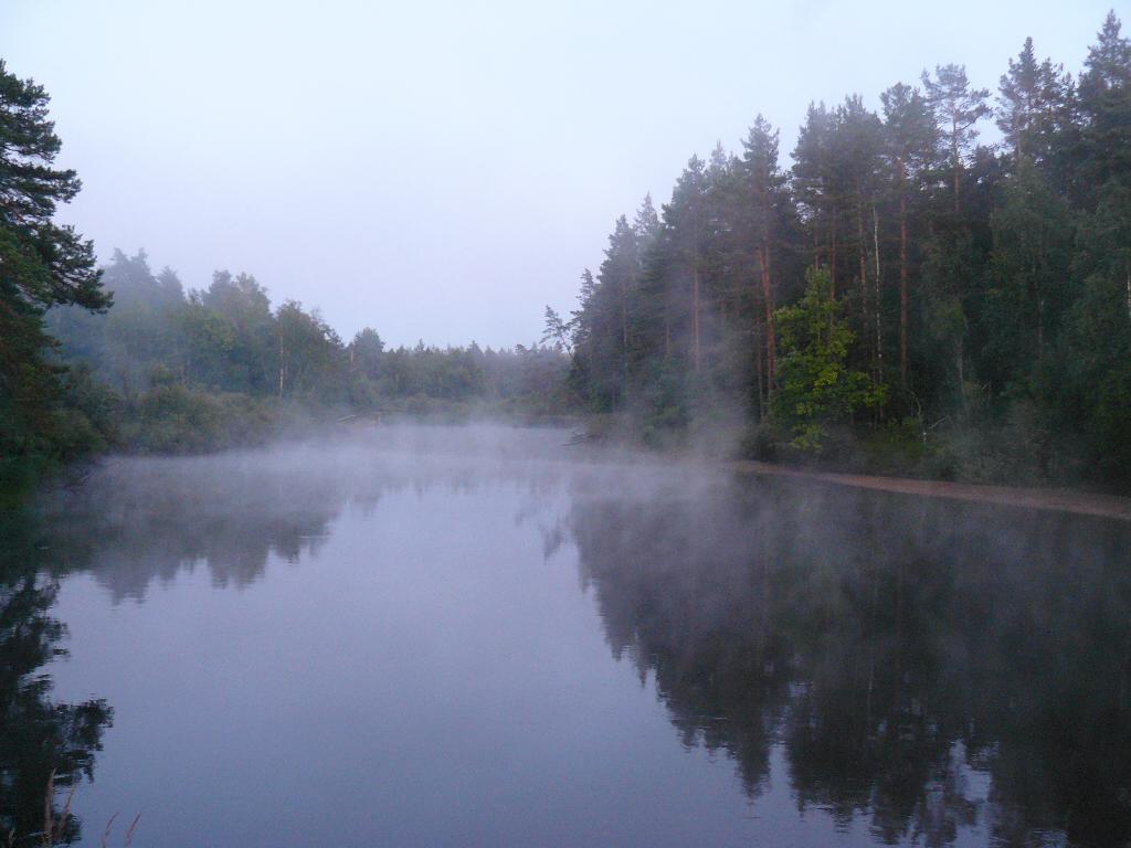 ..Поплыли туманы над рекой.... Блиц: водоемы
