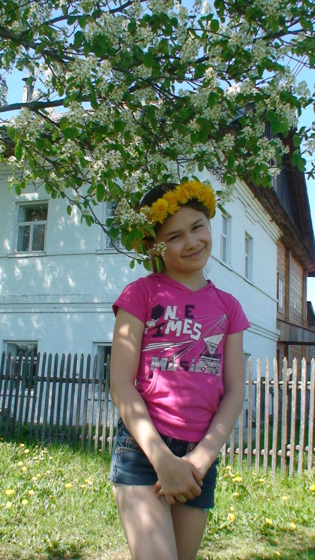 Портрет на даче. уДачное детство
