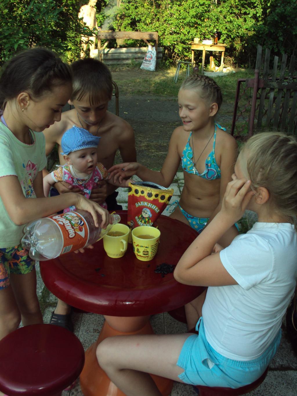 Маленький детский перекус. уДачное детство