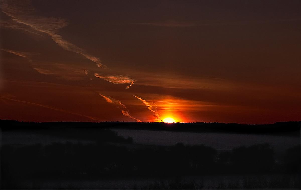 Вечерние краски неба..