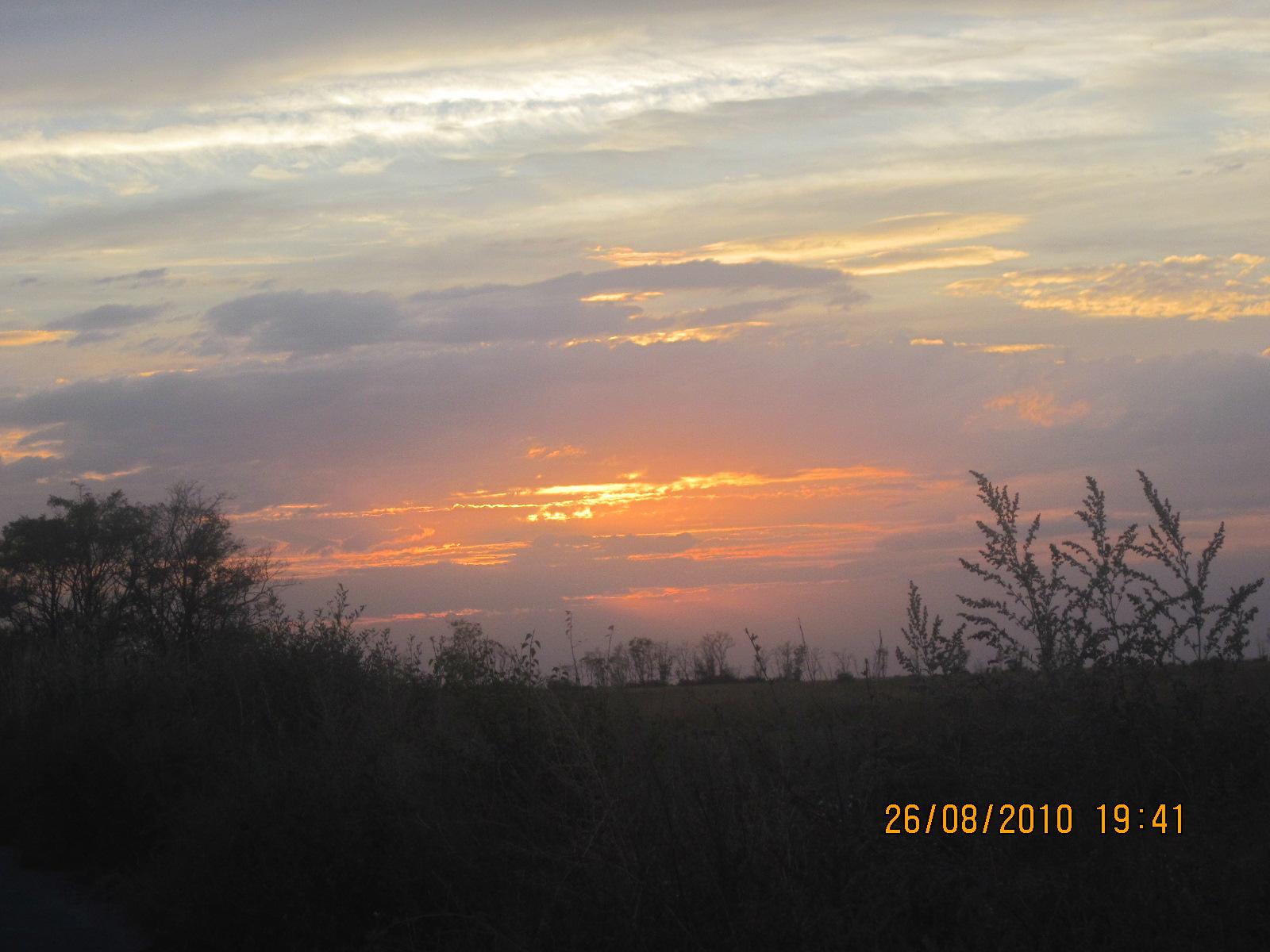 Краденое солнце  (вечер, Волгоград). Блиц: небо