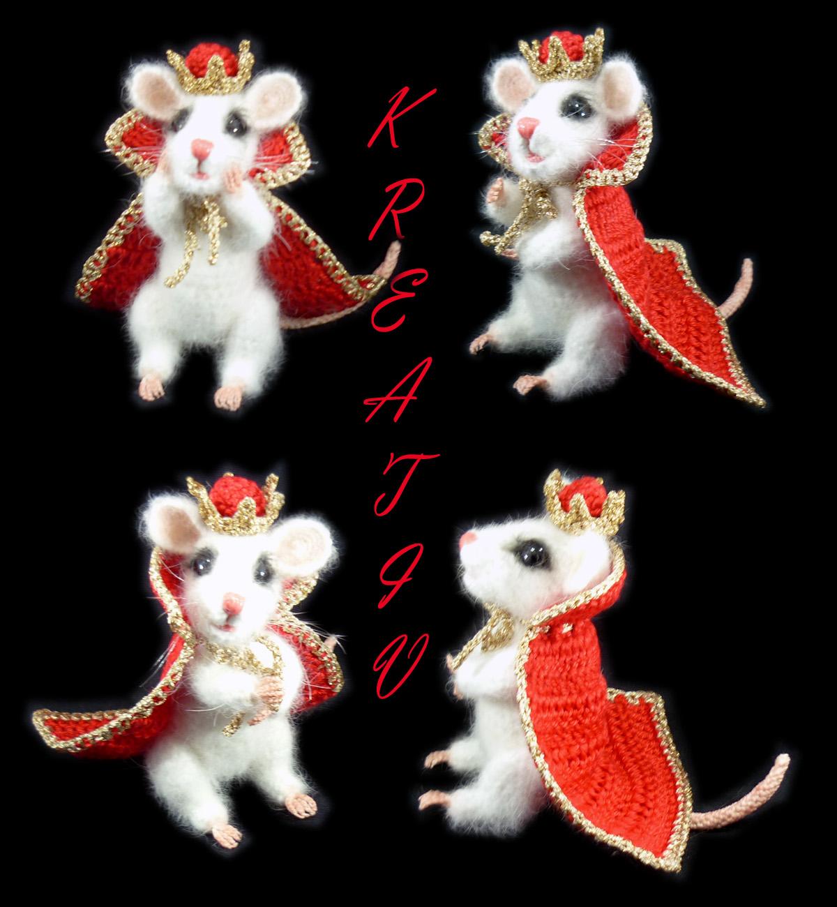 Мышиный король.. Вязаные игрушки