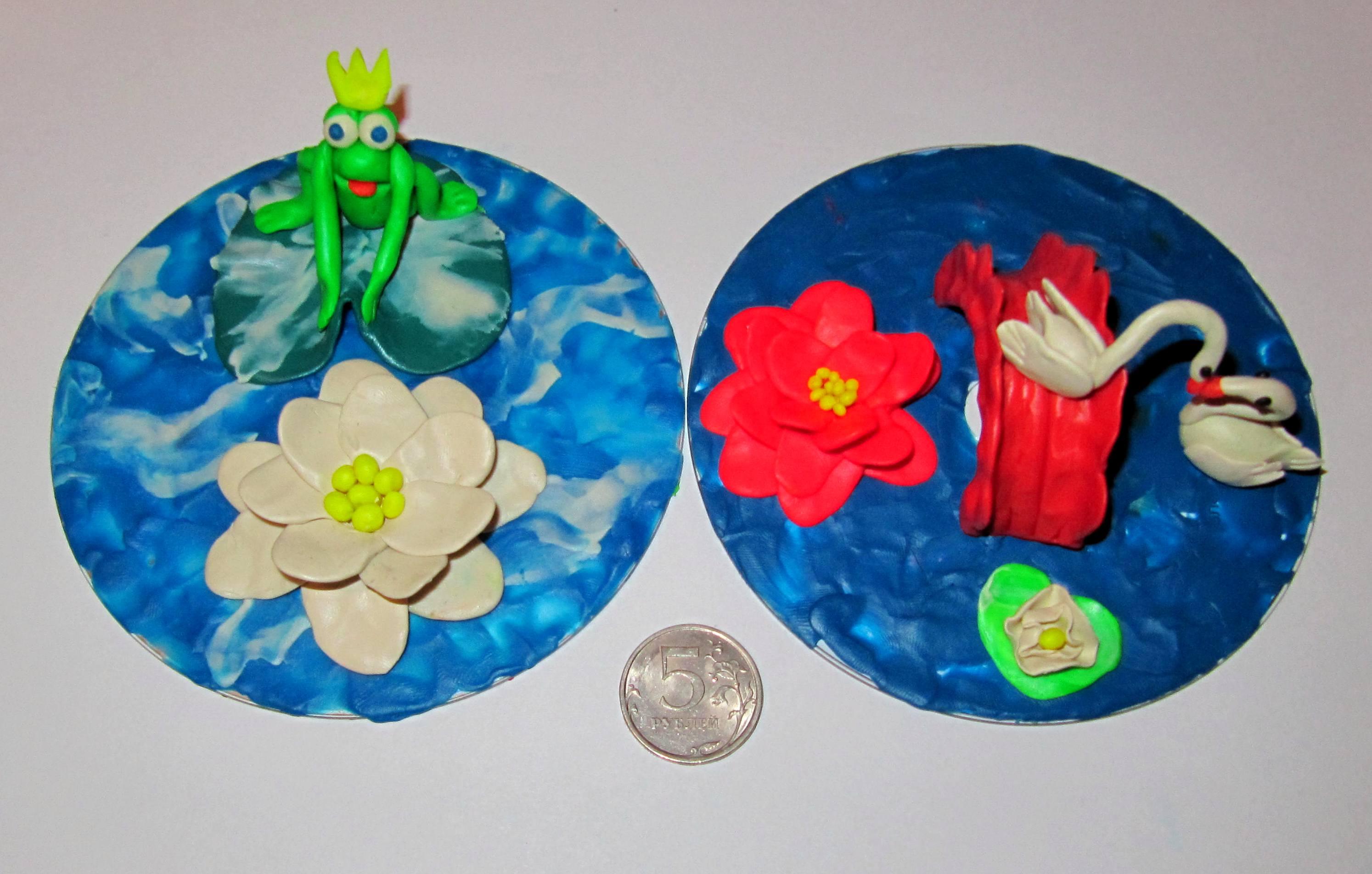 'Царевна лягушка' и 'Лебединое озеро'. Секреты пластилина