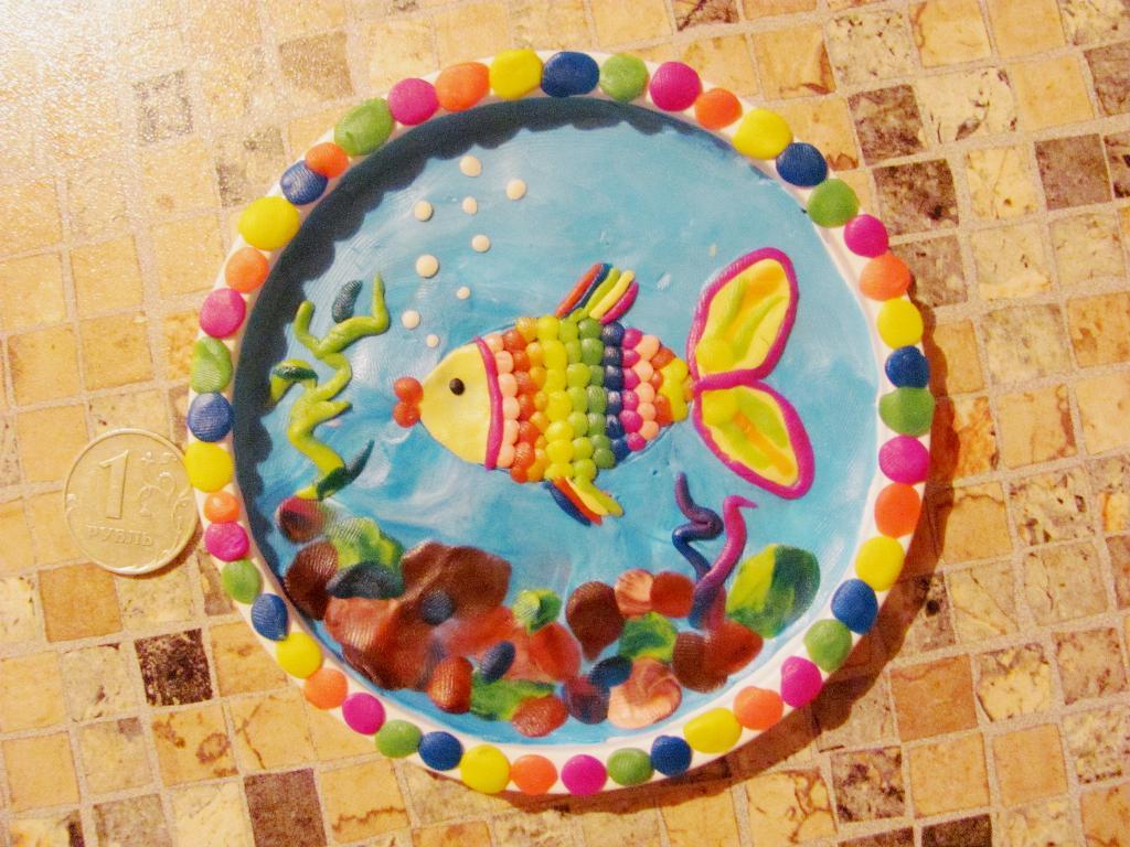 Волшебная рыбка. Секреты пластилина