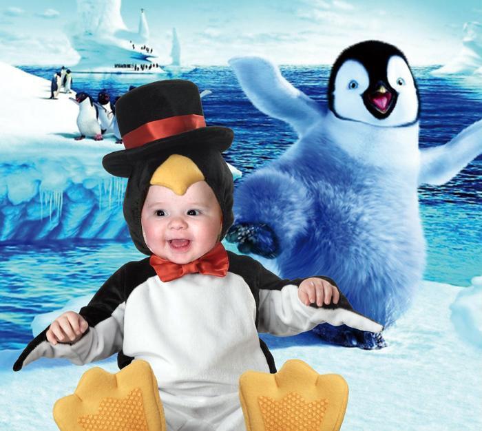 Пингвинята. Фотоколлажи, обработанные фото
