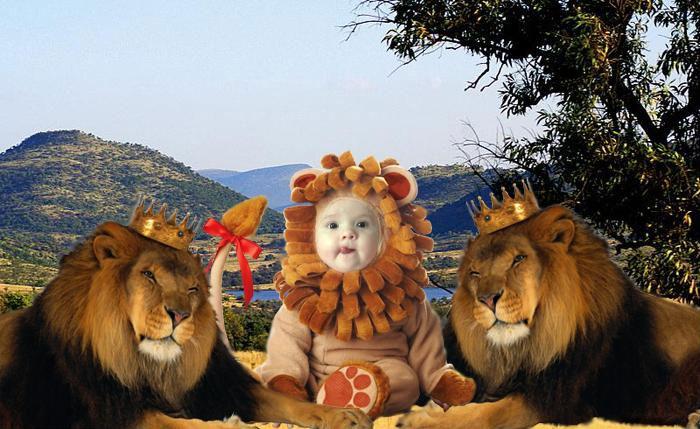 Царская семья. Фотоколлажи, обработанные фото