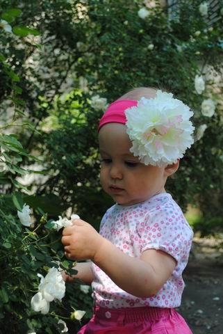 какие красивые цветочки!. уДачное детство