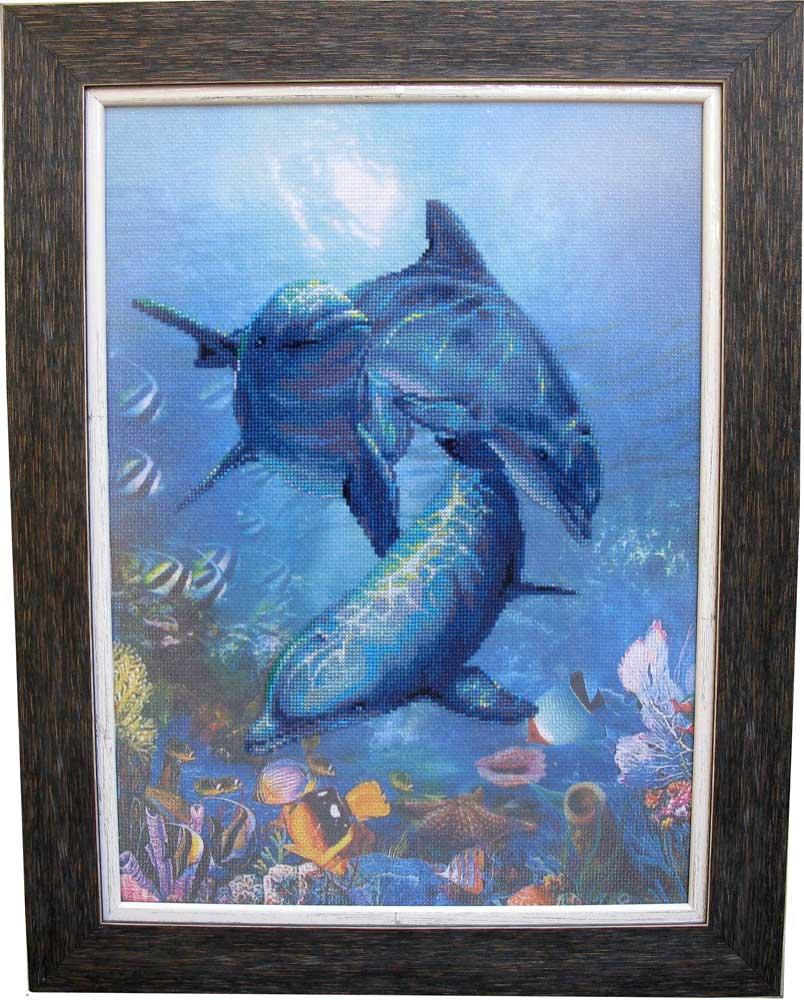 Трио дельфинов. Рыбы и другие обитатели глубин