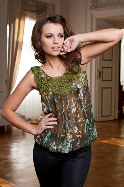 Красивая блузочка-топ 40(46). Одежда для взрослых НОВАЯ
