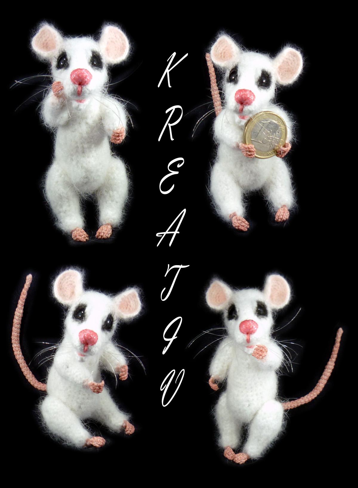 Крысик.. Вязаные игрушки