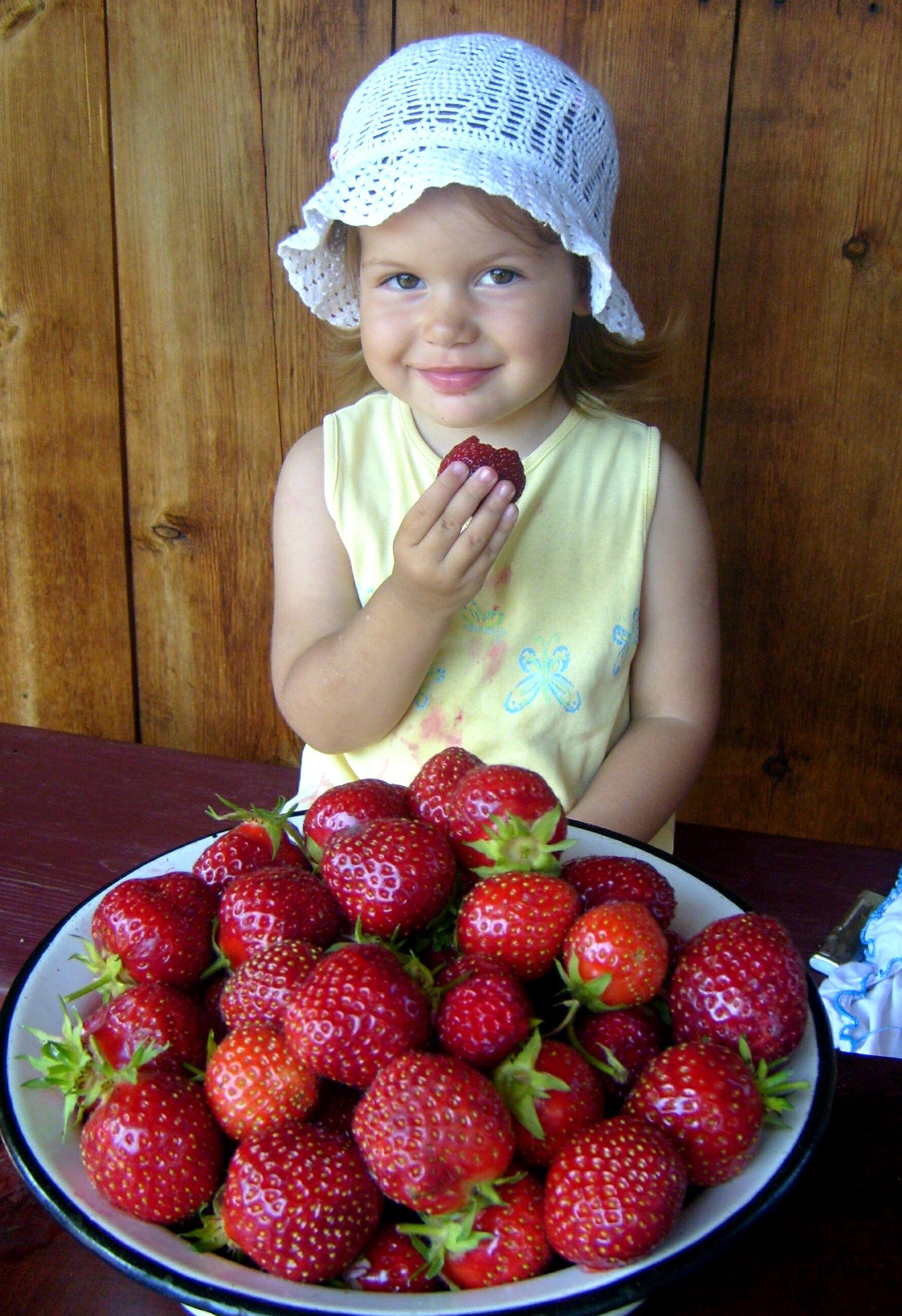 Клубничное счастье!. Блиц: ягоды