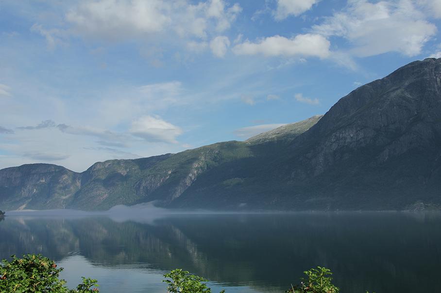Eidfjord, Норвегия. Моря и другие водоемы